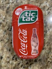 Coca Cola Flavored Tic Tac Limited Edition  3.4oz / 200ct Printed Large Size 98g