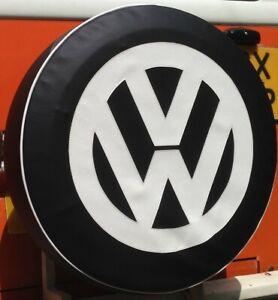 Madmatz Volkswagen VW Crafter Spare Wheel cover Slate Black Tyre 205/75 R 16
