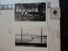 Vintage Photo-2 Photos Sweitzer Album Community Park 6/1931 Allentown PA 1993