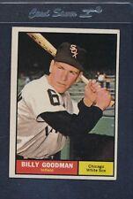 1961 Topps #247 Billy Goodman White Sox VG/EX *800