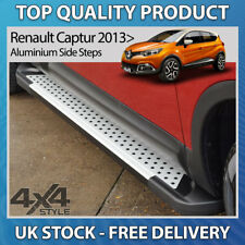 RENAULT CAPTUR 2013+ ALUMINIUM RUFFORD STYLISH SIDE STEP BARS RUNNING BOARDS