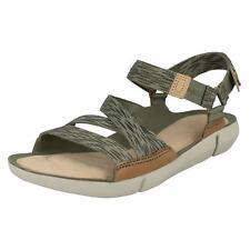 Women's Clarks Tri Sienna Strap Sandals in Pink UK 5 / EU 38