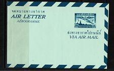 Thailand - Early Aerogramme Unused - 100117
