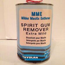 Kryolan Spirit Gum Mastix P Remover 1 Litre Extra Mild Theatre Makeup Supplies