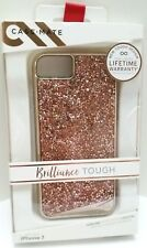 NEW CASEMATE BRILLIANCE TOUGH IPHONE 6 6S 7 8 CRYSTAL ROSE GOLD HYBRID CASE