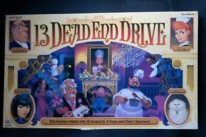 13 Dead End Drive (Milton Bradley); 1993; Parts