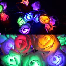 1.5M 10Led Rose Girlanden Led Licht Batterie Hochzeit Geburtstag Dekore Licht LM
