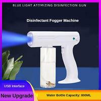 Handheld USB Charger Sanitizer Sprayer Disinfectant Fogger Mister Spray Gun
