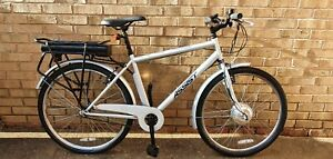 "Assist Electric Bike -Silver - 17"" Frame"