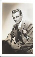 James Cagney, real photo postcard, movie star interest