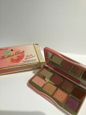 TOO FACED Tickled Peach SIZED PEACH INFUSED EYE SHADOW PALETTE BNWB
