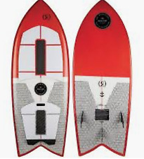 Ronix Koal Technora Powerfish+ Wakesurf Board 4-10 | 2019
