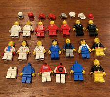 LEGO Minifigure Lot - 18+ Vintage Mini figs & Accessories