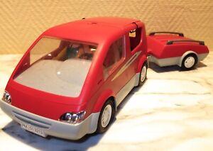 PLAYMOBIL ® - fernsteuerbares Freizeitauto mit Anhänger - ohne Fernsteuerung