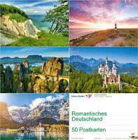 """""""ROMANTISCHE LANDSCHAFTEN"""" in Deutschland, Postkarten-Set 50 St. Ansichtskarten"""