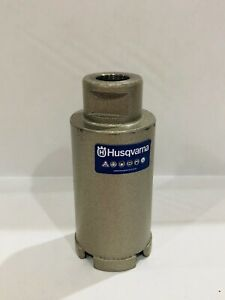 """1.75""""-Inch 1-3/4"""" Husqvarna Segmented Granite Marble Diamond Core Coring Bit"""