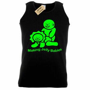 Mens Making Jelly Babies Funny rude joke novelty gift Tank Top Vest