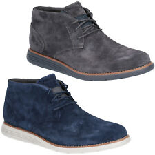 Rockport Total Motion Sportdress Chukka Boots Mens Classic Suede Leather Shoes