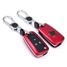 Red FOB Remote Key Cover Bag Keyless Shell Fit For Chevrolet Cruze Malibu Aveo