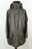 BARBOUR Border Olive Wax Jacket size 117/46In