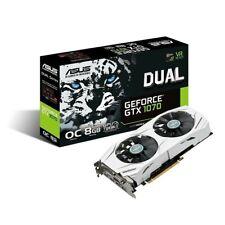 ASUS GeForce GTX 1070 Dual OC 8GB White Graphics Card
