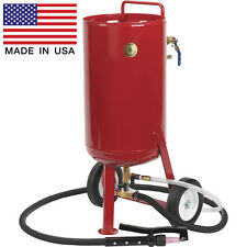 Soda & Abrasive Blaster - 8.2 Gallon Cap - Commercial - 15 CFM - Accessories