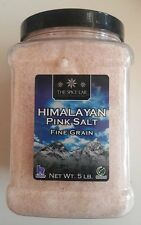 5 LB Himalayan Pink Salt Fine Grain,100% Raw,Natural,Unrefined,THE SPICE LAB