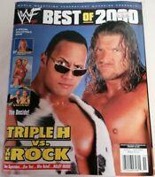 MAGAZINE - WWF WWE Best Of 2000 Special Edition Magazine Feb 2001 Rock Triple H