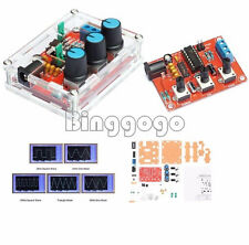 XR2206 Signal Function Generator Kits + Case Sine Triangle Square 1Hz-1MHz DDS
