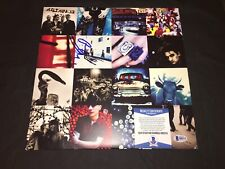 "Bono Signed Achtung Baby Vinyl ""The Fly"", ""Mysterious Ways"" Beckett Authentic"