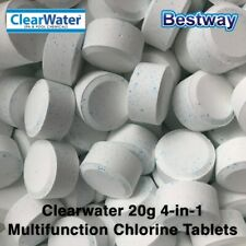 Bestway Clearwater Multifunction 20g 4-in-1 Chlorine Tablets For Lay Z Spa Lazy