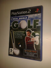 * Sony Playstation 2 Game * GAMETRAK REAL WORLD GOLF * PS2