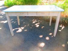 """56"""" FARM TABLE kitchen CENTER ISLAND dry paint DELIVERY AVAILABLE call 4 info"""