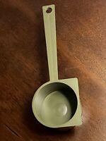 "Tupperware Vintage Coffee Scoop Spoon 2 Tablespoon 4.75"" Retro DARK GREEN 41 New"