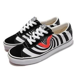 Vans Sport Swirl Black White Fiery Coral Men Unisex Casual Shoes VN0A4BU62U1
