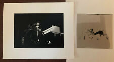 Original 1940s Nat King Cole Photo And Negative