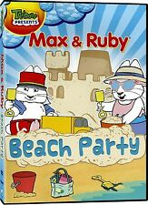 NEW DVD // TREEHOUSE // MAX AND & RUBY // BEACH PARTY - 66min - 6 EPISODES