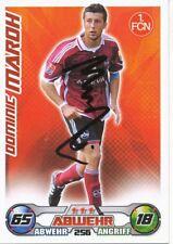 Dominic Maroh   FC Nürnberg  Match Attax Card 2009/10 signiert 401036