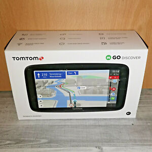 TOMTOM GO DISCOVER EU 6 Navigationsgerät 6 Zoll Touchscreen 180 Länder