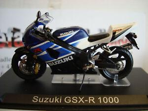 Suzuki GSX R 1000 - 2004 White Blue Altaya 1:24