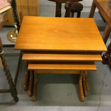 Teak Less than 60cm No Assembly Required 3 Nested Tables