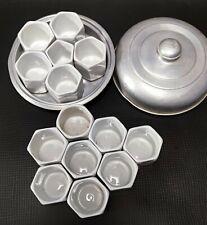 ★★★Yaourtière Yalacta Aluminium avec 13 pots en porcelaine + pot  ★★★