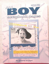 All Boy Scrapbook Pages by Memory Makers Books Staff (2004, Paperback)