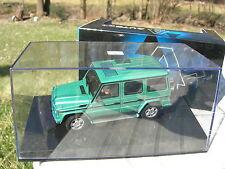 AUTOart 1/43 MERCEDES BENZ G-WAGON LWB 4X4 chassis long vert metal!!
