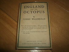CLOUGH WILLIAMS ELLIS-ENGLAND & THE OCTOPUS-SIGNED-1929-VG-VERY RARE