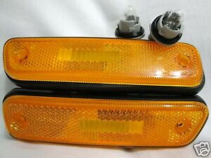 Front Side Signal Parking Marker Light Lamps One Pair Fit 2002-2005 XL7