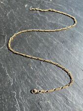 Vintage Yellow Gold Fancy Link Chain Necklace