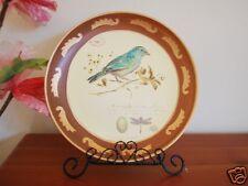 Ceramic Decoration Plate Country Bird 25cm C