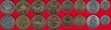 Nepal set of 8 coins: 10 paisa - 10 rupees 1994-2009 UNC