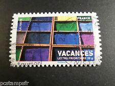 FRANCE 2007, timbre 4046, AUTOCOLLANT 127, VACANCES, oblitéré, HOLIDAYS